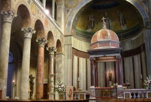 Sant'Agnese - Interno