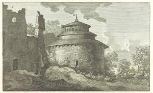 Santa Costanza in una rappresentazione del 1820