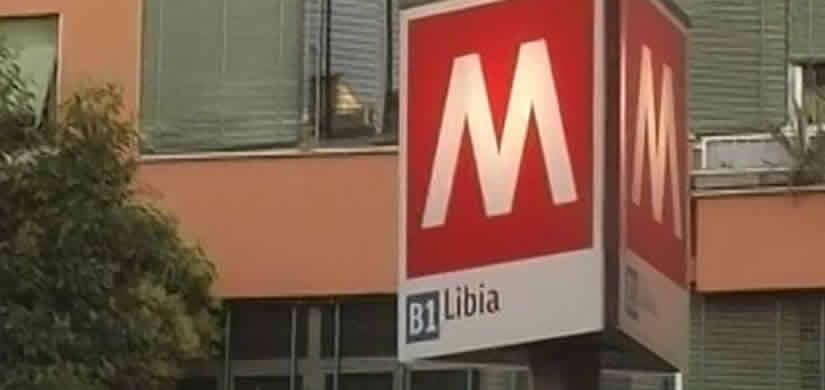 Metro Viale Libia