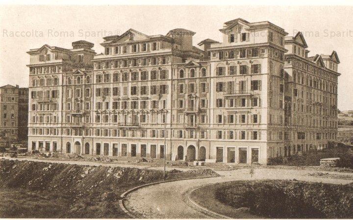 Ecolodge Roma - Viale Eritrea nel 1933 (foto Romasparita)
