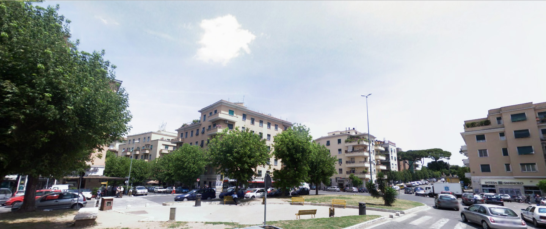 Piazza Vescovio - Roma
